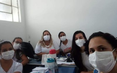Secretária de Saúde Carla Vasconcelos realiza planejamento para ações do  Outubro Rosa